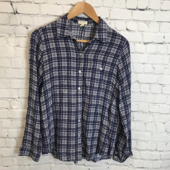 cd5488d1 Joie Tops   Soft By Button Down Shirt Size Small   Poshmark